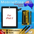 iPad 2 touch screen with adhesive tape [Black]