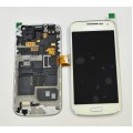 Samsung Galaxy S4 Mini i9195 LCD and Touch Screen Assembly with Frame [White] For Optus Phone