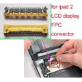 iPad 2 LCD FPC Connector on Logic Board [Need Soldering]