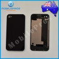 iPhone 4S Back Cover [Black] [No Prints]