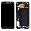 Samsung Galaxy S6 Edge Plus LCD and Touch Screen Assembly with Frame [Blue]