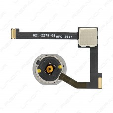 iPad mini 4 Home Button and Flex Cable Full Assembly [White]