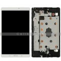 Samsung Galaxy Tab S SM-T700 LCD and Touch Screen Assembly with Frame [White]