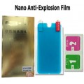 iPhone 5/5C/5S Nano Soft Explosion-proof membrane screen protector with retail packaging