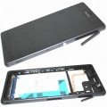 Sony Xperia Z3 LCD and Touch Screen Assembly with Frame [Black]